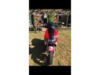Gilera runner 50cc reg as 125cc
