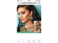 Asian bridal makeup artist and hair styling