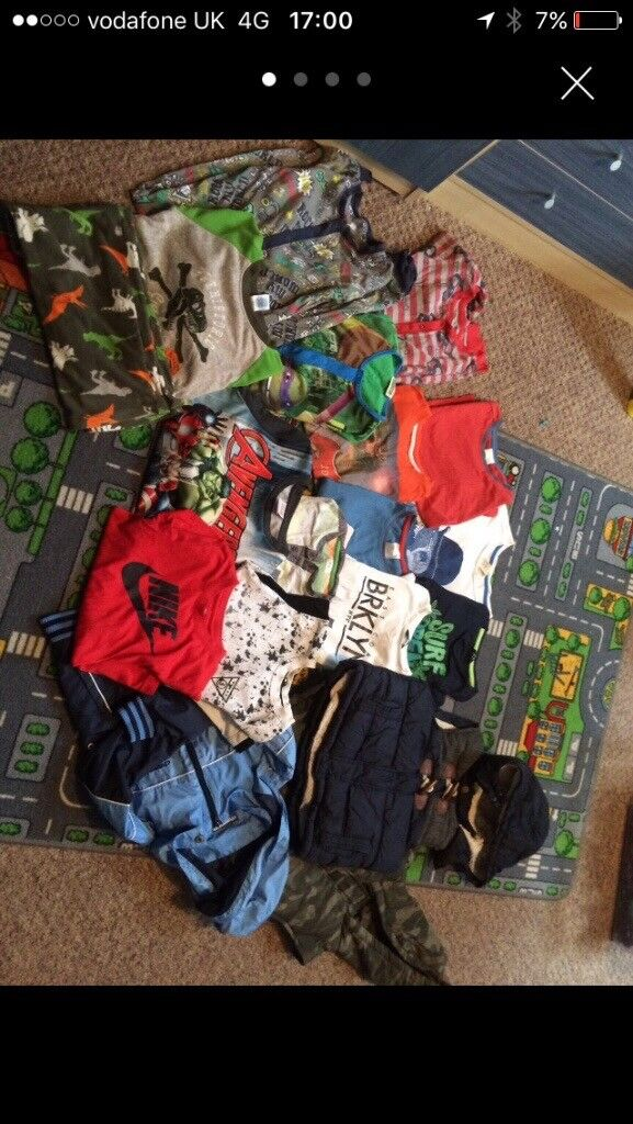 Bundle of boys clothes all for £12