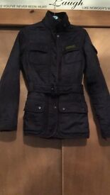 Beautiful Purple Barbour jacket size 8 £50