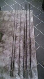 SHIMANO AERO SPECIMEN CARP RODS X3