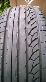 Pair of nearly new Nankang AS-1 tyres 225/55 ZR19 99Y (will fit Mazda CX-5 Sport)