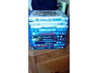 Various 3D Blurays