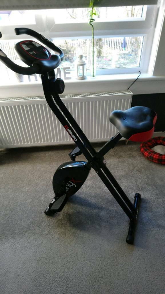 Viavito Onyx Folding Exercise Bike | in Airdrie, North Lanarkshire | Gumtree