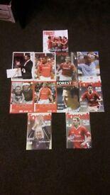 Bundle of Nottingham Forest Programmes
