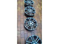 Vauxhall SRI 17 '' alloys