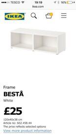 Ikea Besta frame -NEW