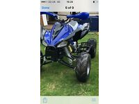Quad bike 110cc and trailer