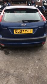 2007 FORD FOCUS ZETEC CLIMATE (MANUAL PETROL)