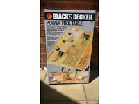 Black & Decker Power Tool Table ( In Original Box )