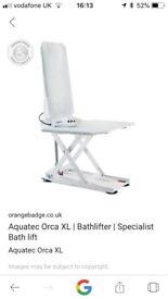 Aquatec orca xl bath lift
