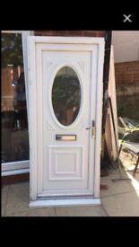 Used upvc front door