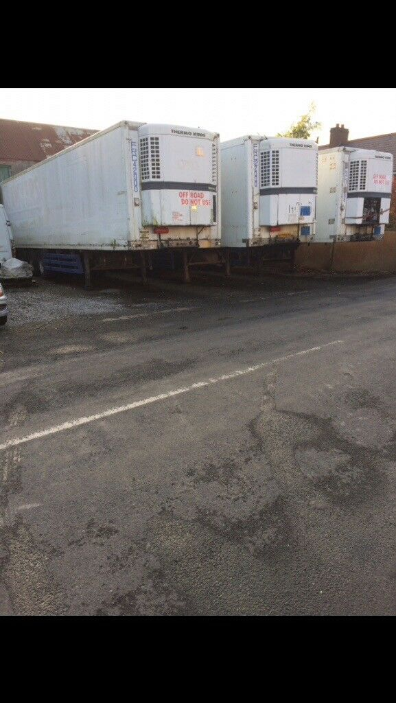 40FT REFRIGERATED LORRY CONTAINERS FOR SALE