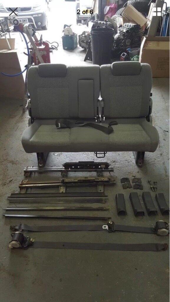Mazda Bongo Rear Seat, Rock And Roll Bed Camper Van Seat