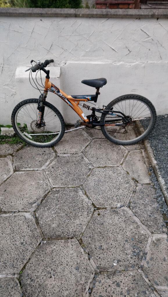 Dual Suspension Slam Lovely wee Bike needing Nothing Clean Bike £40...