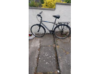 Scott hybrid bicycle in good condition suit a tall person we bike is class £80