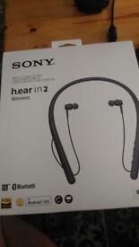 Brand new Sony h.ear in 2 wireless headset