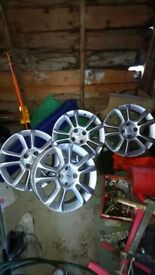 Vauxhall corsa alloy wheels