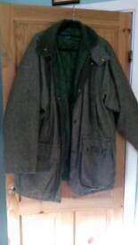 Green tweed shooting /hunting coat