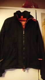 Womens small superdry coat