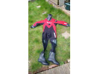 Northern Diver OuterEdge Compressed Neoprene Mens Scuba Dry suit. New. Medium