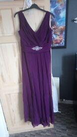 Bridesmaid dress size 20