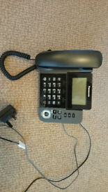 Panasonic KX-TGF320E Corded and Cordless Nuisance Call Block Telephone
