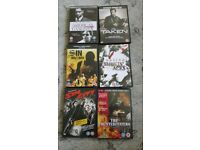 American Gangster, Taken, Sin Nombre, Smoking Aces, Sin City, The Counterfeiters