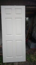 8 x JeldWen Regency style interior doors (78 x 33 inch)