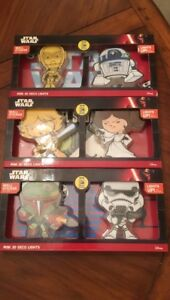 Star Wars 3D Set of Two Deco Lights Comic Con Excusive
