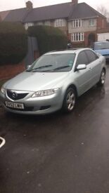 Mazda6 2.0 TS2 4dr Automatic Silver Saloon 2002 (MOT Expired)