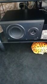 sandstorm spakers(50w) nd warflade diamond back speakers(75w) both bookshelf