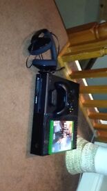 Xbox One 500Gb with headset/adapter and battlefield 1