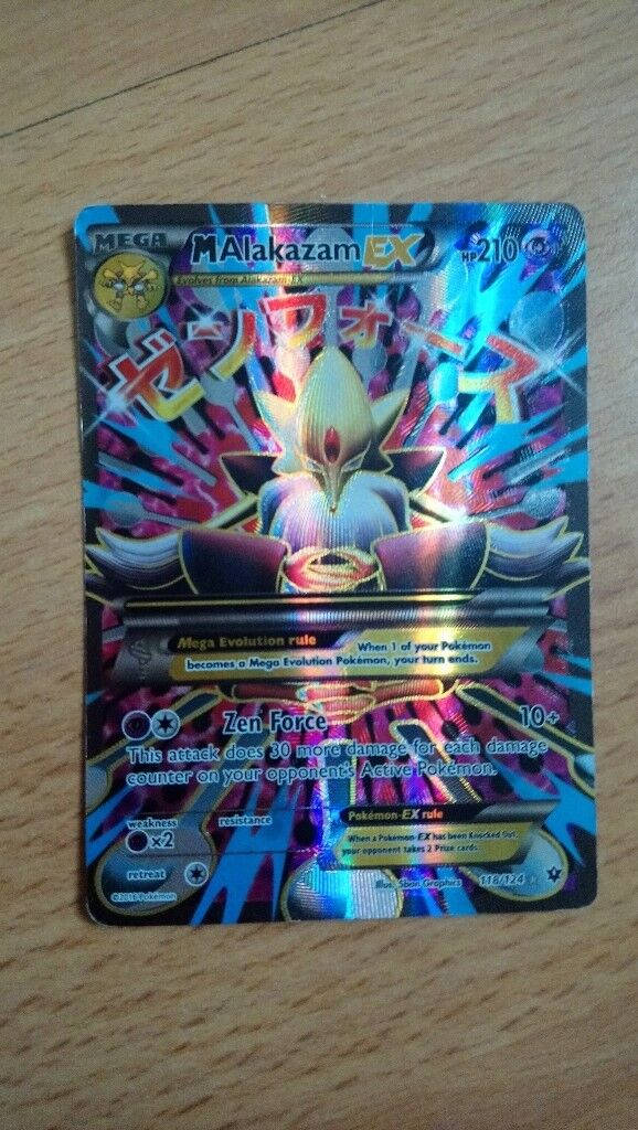 Pokemon Mega Alakazam Ex Card In Dunfermline Fife Gumtree