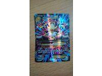Pokemon Mega Alakazam EX card