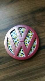 Vw badge. CUSTOM