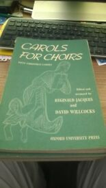 5 x Carols for Choirs Bk1 and 1 x Carols for Choirs Bk2, 5 x Sounds of Living Water