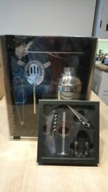 Cocktail and Wine Accessory Set, brand new, unwanted gift.