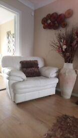 Leather Armchairs (2 available and free sofa if required)
