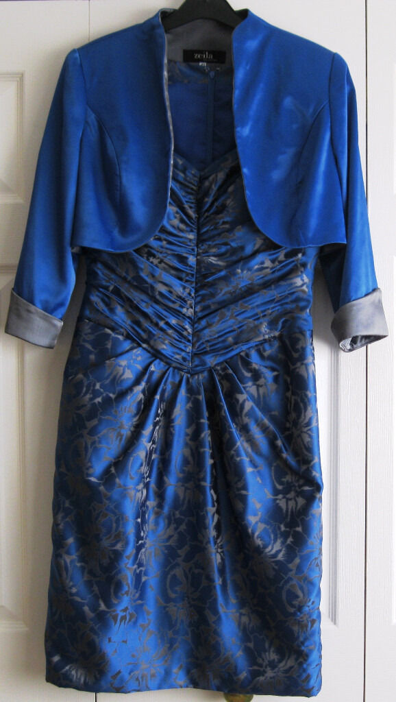 Dress and Jacket, size 10/12, like NEW.