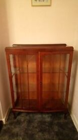 Display Cabinet Antique Excellent