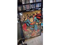 Superman Framed Poster