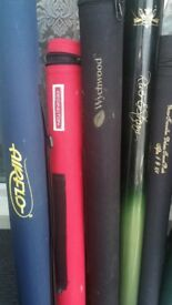 over 35 quality fly fishing rods all weights and sizes in tubes from £20=£40