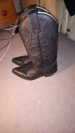 Sendra Judy Savage 2605 Cowbow boots for women- Size 7