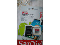 Sandisk 64GB microsd tf brand new microSDXC UHS-I micro SD memory card Android
