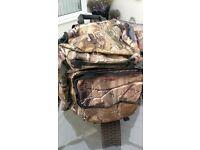 REALTREE xl camo rucksack in v,g,c