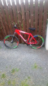 Specialized hardtail bike very good bike lovely condition just serviced £100