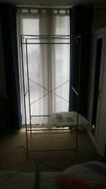 Metal framed wardrobes