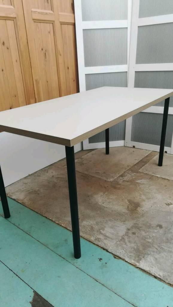 NEW IKEA LINNMON TABLE