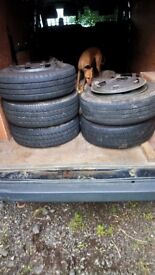 Ford transit wheel rims tyres